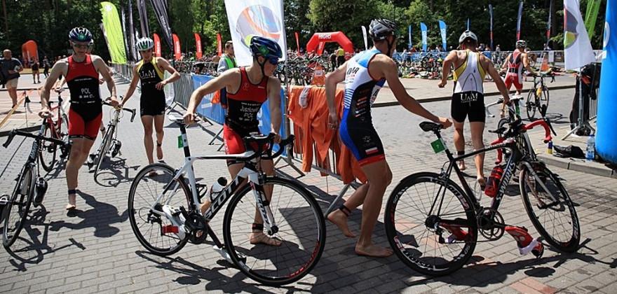 Triathlon w Augustowie