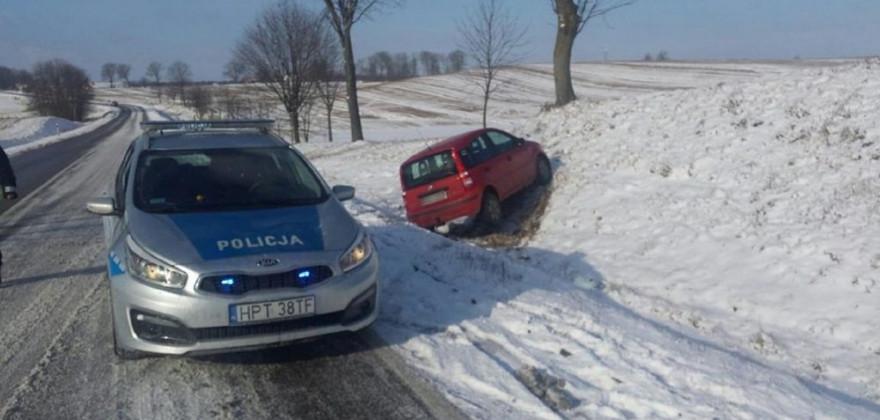 Trudne warunki na drogach. Doszło do kilku kolizji