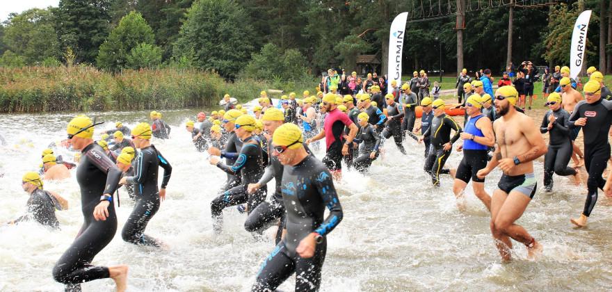 Ponad pół tysiąca uczestników na mecie triathlonu