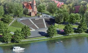 Amfiteatr gotowy będzie w kwietniu