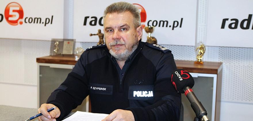 Zmiany w ełckiej policji. Paweł Szyperek odchodzi na emeryturę