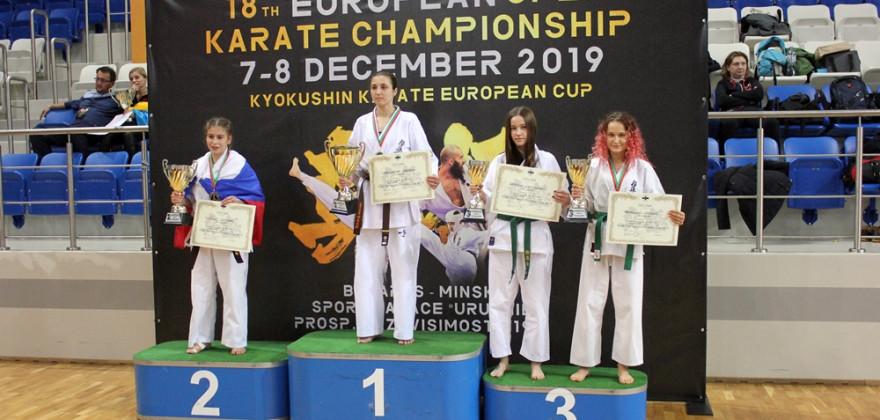 Olecczanki wywalczyły dwa medale na Pucharze Europy