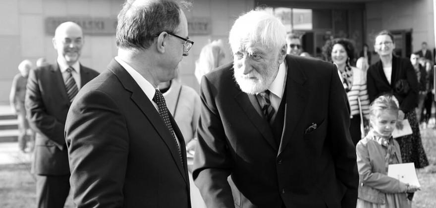 – Wspaniały człowiek, mistrz, nauczyciel – prezydent o zmarłym Andrzeju Strumille