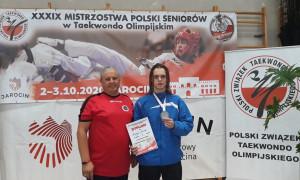 """Zawodnik oleckiego UKS """"Hidori"""" z tytułem wicemistrza Polski"""