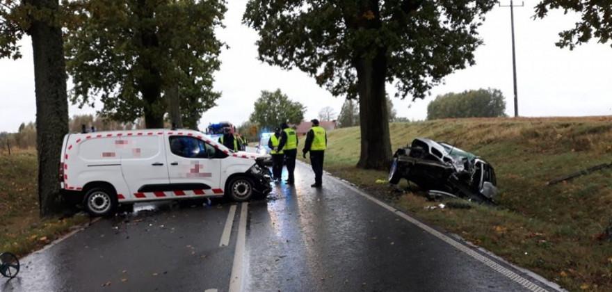 Trudne warunki na drogach. W regionie doszło już do kilku wypadków. Jedna osoba nie żyje