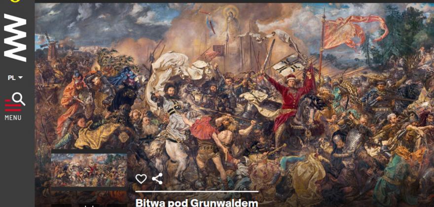 """""""Bitwa pod Grunwaldem"""" powstaje w Sejnach"""