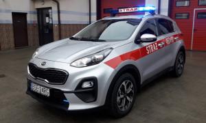 Nowy samochód sejneńskich strażaków