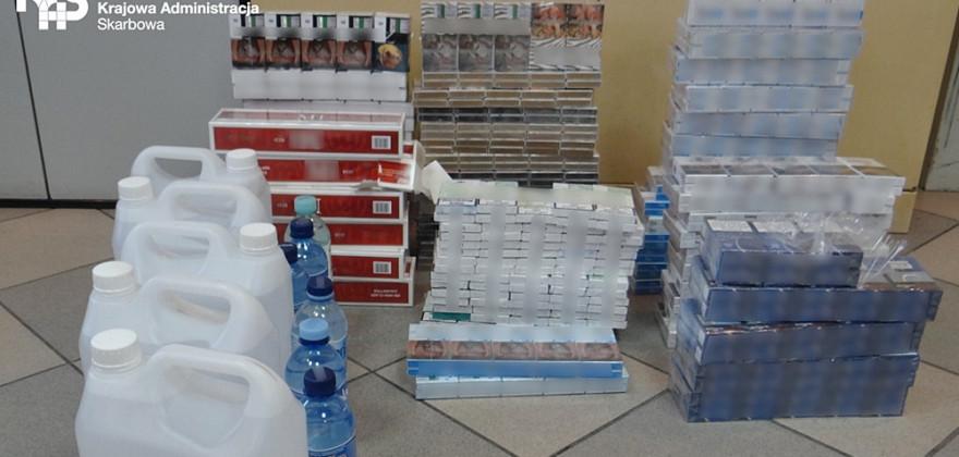 Nielegalny towar sprzedawał na bazarze
