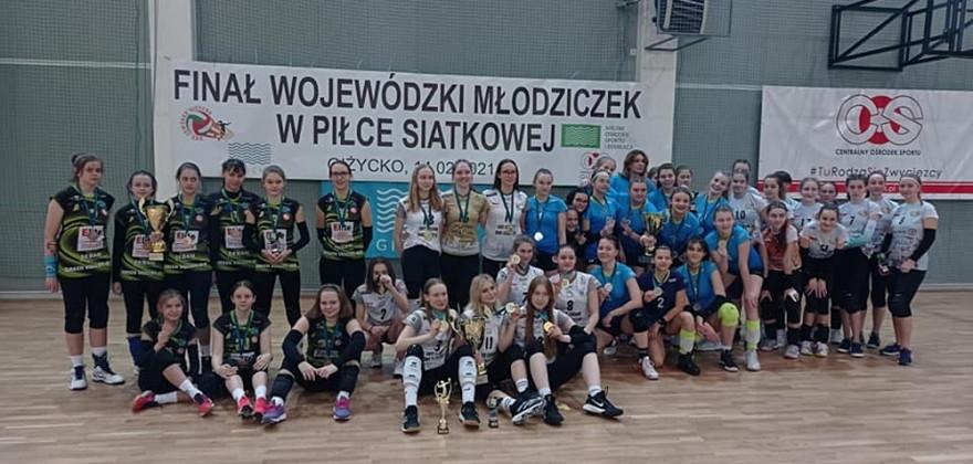 Młodziczki rywalizowały w mistrzostwach województwa