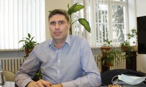 Profesor w szpitalu wojskowym w Ełku